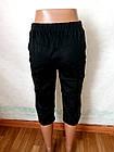 Бриджи шорты женские р.48.Цвет черный. От 4шт по 53грн., фото 4