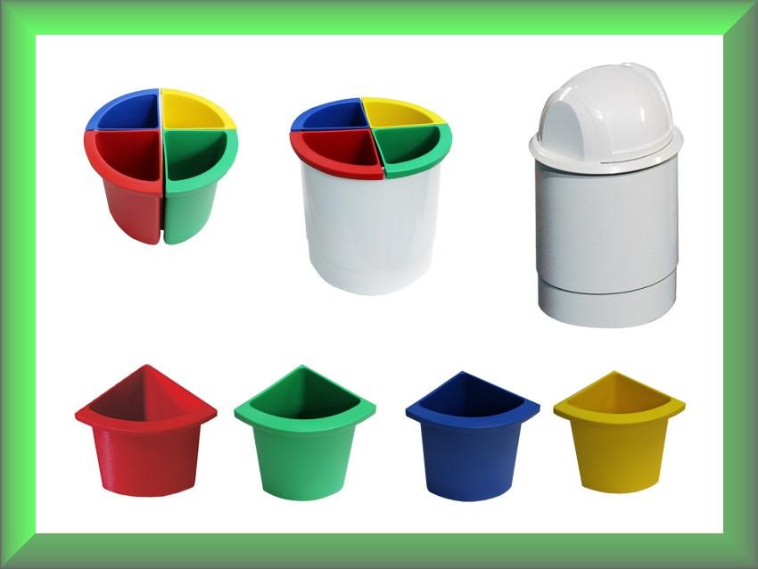 Роздільник урни для сміття ACQUALBA A54607 Mar Plast