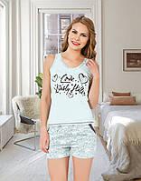 Комплект двійка жіночий: майка і шорти Miss Victoria Туреччина S-M | 1 шт.
