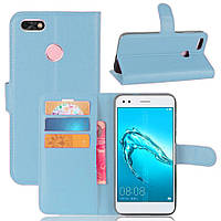 Чехол-книжка Litchie Wallet для Huawei P9 Lite Mini / Nova lite 2017 Blue