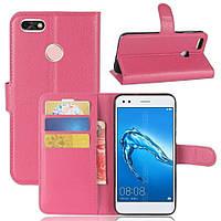 Чехол-книжка Litchie Wallet для Huawei P9 Lite Mini / Nova lite 2017 Rose
