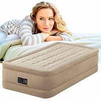 Надувная кровать Intex 64456 Twin Ultra Plush, фото 1