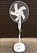 Вентилятор підлоговий з пультом і таймером Domotec 40Вт 3 режиму, фото 3