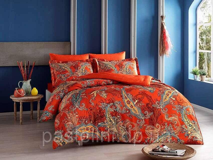 ТАС Digital Marisol oranj семейный комплект постельного белья