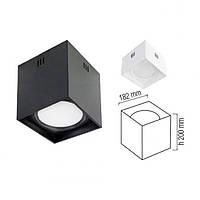 Светодиодный светильник белый, черный Sandra-15W/SQ Xl 15W 4200К Horoz