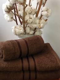Махровое полотенце 40х70, 100% хлопок 500 гр/м2, Пакистан, Шоколад, Без борда