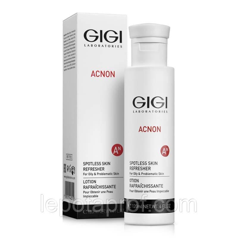 Эссенция-Тоник противовосполительная, выравнивающая тон GIGI Acnon Spotless skin refresher, 120 ml
