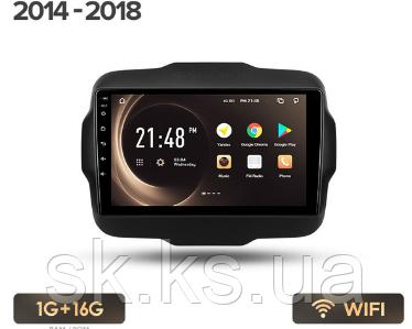Junsun 4G Android магнитола для Jeep Renegade 2014 - 2018