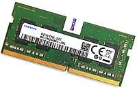 Оперативная память для ноутбука Samsung SODIMM DDR4 4Gb 2400MHz 19200S 1R16 CL17 (M471A5244BB0-CRC) Б/У, фото 1