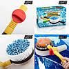 Вращающаяся щетка-насадка для шланга Water Blast Cleaner Roto Brush, фото 7