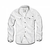 Рубашка Brandit Slimfit Shirt White