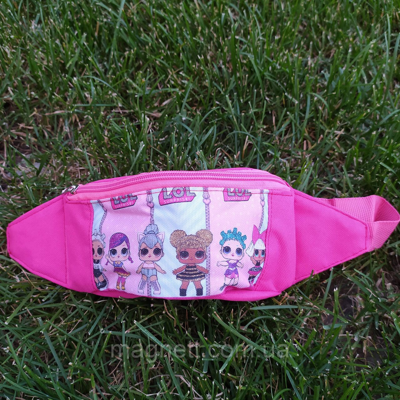 Детская поясная сумка бананка для девочек Лол 6 кукол <>