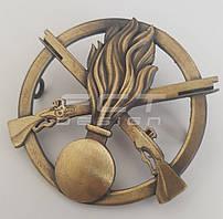 Кокарда піхоти/ Беретний знак механізованих військ металева