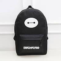 Рюкзак светится в темноте, черный рюкзак на молнии