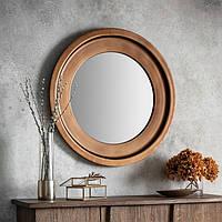 Круглое зеркало Gallery Direct Moorley бронза (5055999217125)
