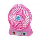 Мини-вентилятор Portable Fan Mini розовый, фото 2