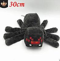 Паук большой 30*40см Minecraft мягкая игрушка