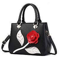 Элегантная женская сумка с цветком