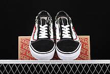 """Кеды Vans Old Skool x Bape Custom """"Черные"""", фото 2"""