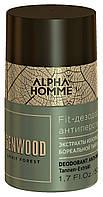 Дезодорант-антиперспирант Estel Professional Alpha Homme Genwood Fit Deodorant Anti-Perspirant 50 мл