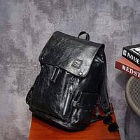 Моддный и практичный черный рюкзак, очень вместительный