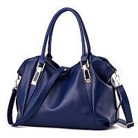 Темно синяя женская сумка для женщин