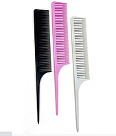 Набор расчёсок для микро мелирования VIEW KEEP розовая + серая + черная, фото 1