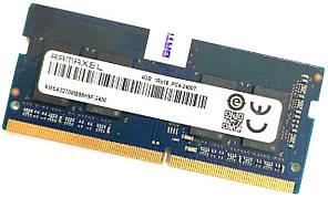 Оперативная память для ноутбука Ramaxel SODIMM DDR4 4Gb 2400MHz 19200S 1R16 CL17 (RMSA3270MB86H9F-2400) Б/У