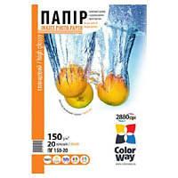 Бумага ColorWay 10x15 (ПГ180-500) (PG1805004R)