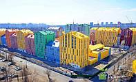 Покраска фасада зданий.