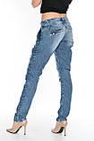 Джинсы OMATjeans 9635-768 синие, фото 6