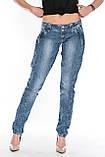 Джинсы OMATjeans 9635-768 синие, фото 8
