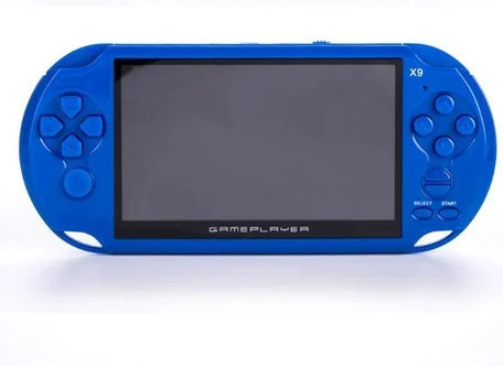 Портативна ігрова приставка PSP X9 400 ігор вбудовані камера динаміки 8gb