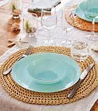 Ammonite Turquoise & White Сервиз столовый 19 пр. Luminarc P9909, фото 8