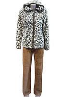 Тигровая махровая пижама