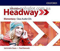 Аудио диск New Headway 5th Edition Elementary Class Audio CDs