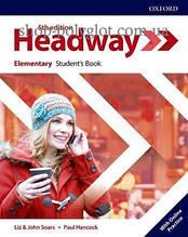 Учебник New Headway 5th Edition Elementary Student's Book with Online Practice