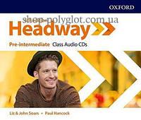 Аудио диск New Headway 5th Edition Pre-Intermediate Class Audio CDs