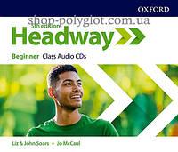 Аудио диск New Headway 5th Edition Beginner Class Audio CDs