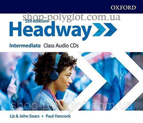 Аудио диск New Headway 5th Edition Intermediate Class Audio CDs
