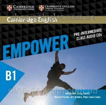 Аудио диск Cambridge English Empower B1 Pre-Intermediate Class Audio CDs