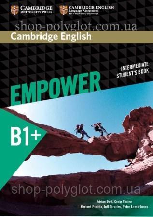 Учебник Cambridge English Empower B1+ Intermediate Student's Book