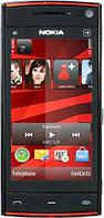"""Китайский Nokia X6, black, 3"""", 2 сим, Jawa, 3,5мм jack., фото 1"""