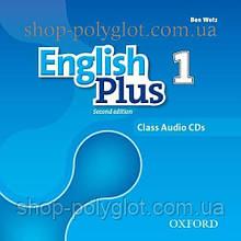 Аудио диск English Plus Second Edition 1 Class Audio CDs