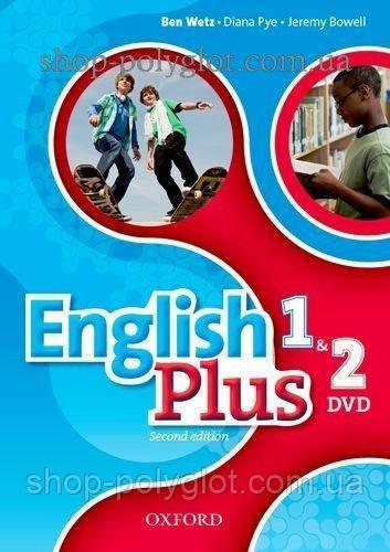 Видео диск English Plus Second Edition 1 and 2 DVD