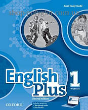 Рабочая тетрадь English Plus Second Edition 1 Workbook with access to Practice Kit