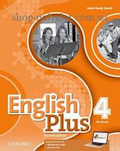 Рабочая тетрадь English Plus Second Edition 4 Workbook
