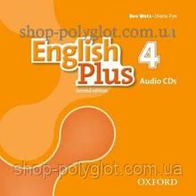 Аудио диск English Plus Second Edition 4 Audio CDs