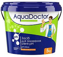 Средство для снижения уровня pH AquaDoctor pH Minus | Химия для регулирования уровня pH воды