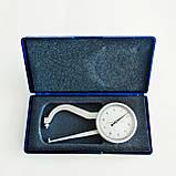 Товщиномір (стенкомер) індикаторний KM-422-104 (0-10 мм; ± 0,01 мм), фото 4